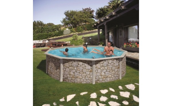 Round Swimming Pool San Marina Iraklion 3.5x1.2 M
