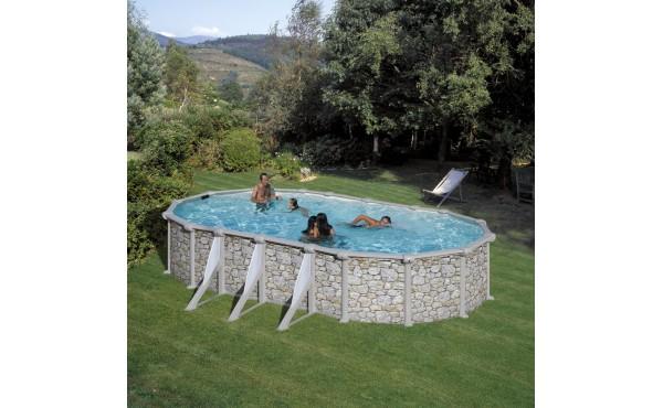 Pool – Stone Imitation, San Marina Iraklion 7.30x3.75x1.20 M