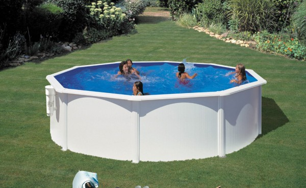 Prefabricated Round Pool Gre Supereco 3.50x1.20 M