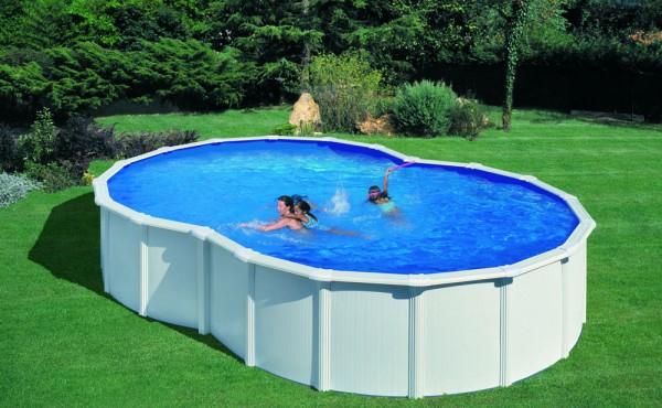 Prefabricated Pool 8-shaped Gre Varadero 5x3.40x1.20 M