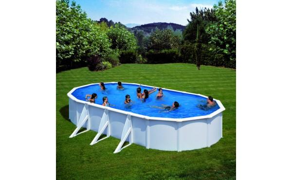 Prefabricated Oval Pool Gre Bora Bora 5.00x3.00x1.20m