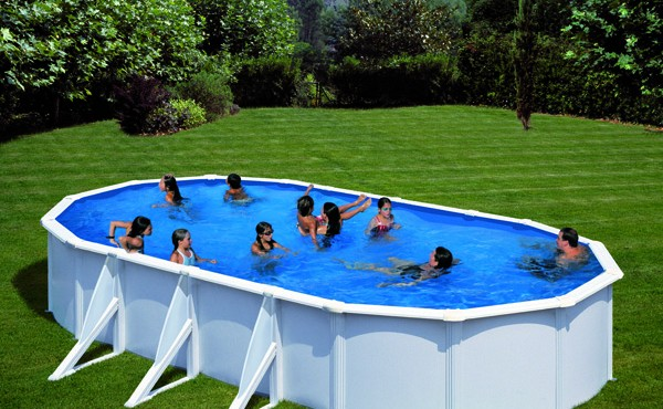 Prefabricated Oval Pool Gre Bora Bora 5.00x3.00x1.20m