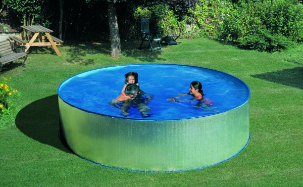 Prefabricated Round Pool Gre Dream Pool Ibiza 4.50x0.90 M