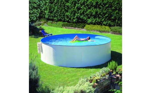 Round Prefabricated Pool San Marina Supereco 350x120 Cm