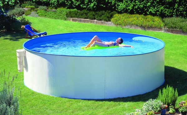 Round Prefabricated Pool San Marina Supereco 350x120 Cm