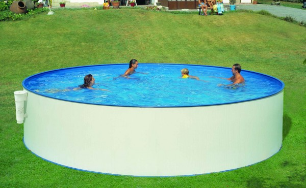 Round Prefabricated Pool San Marina Supereco 450x120 Cm