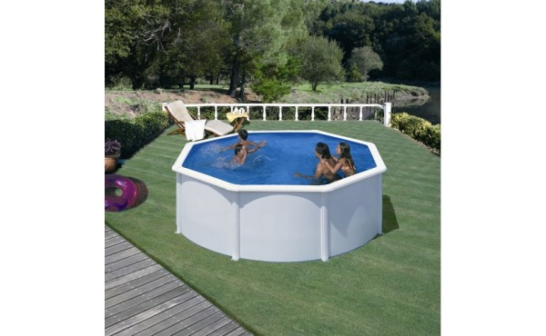 Prefabricated Metal Pool San Marina Fidji 3x1.2 M