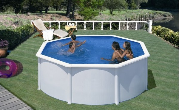 Prefabricated Metal Pool San Marina Fidji 3x1.2 M