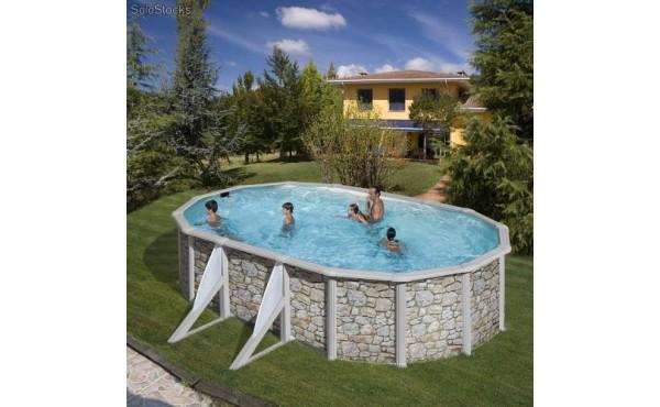 Oval Swimming Pool San Marina Iraklion 5x3x1.2m