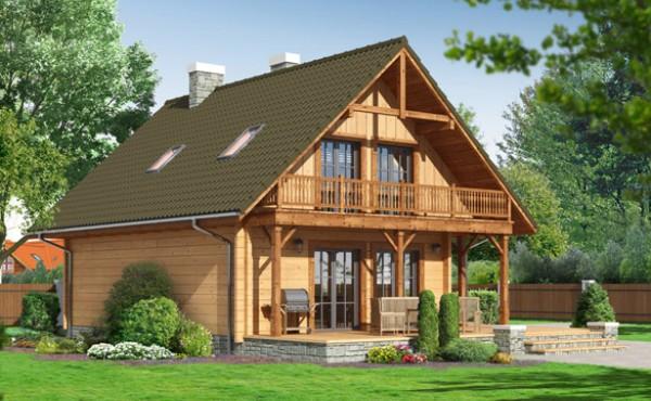 Two storey prefabricated house Eko Living Grand 125