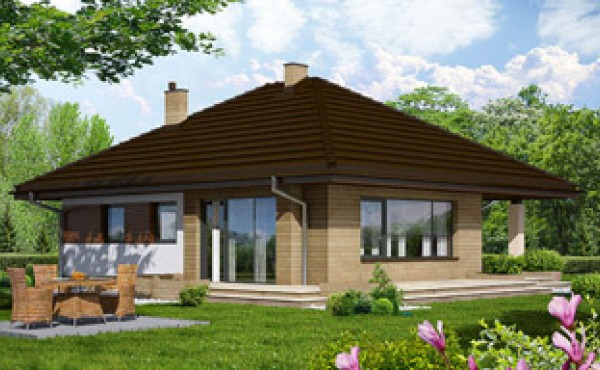 One storey prefabricated house EKO LIVING 102