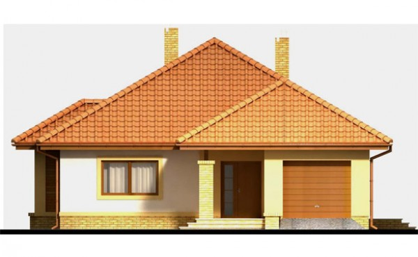 One storey prefabricated house EKO LIVING 129