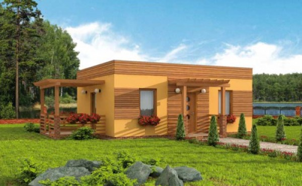 One-storey prefabricated house EKO LIVING 55