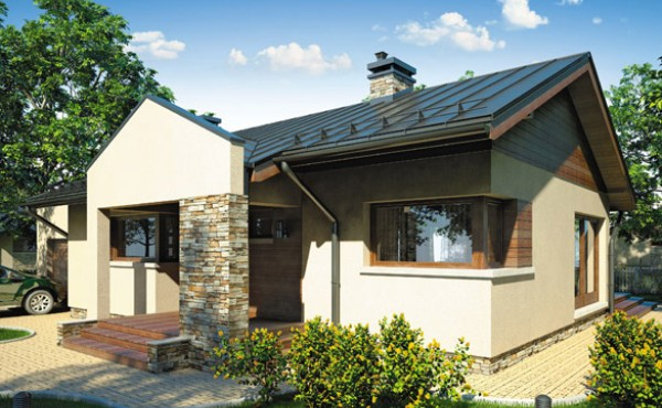 One-storey prefabricated house EKO LIVING 96