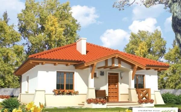 Едноетажна сглобяема къща EKO LIVING 106