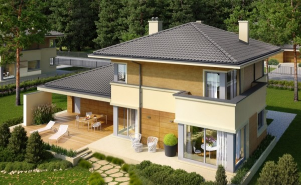Two storey prefabricated house Comfort