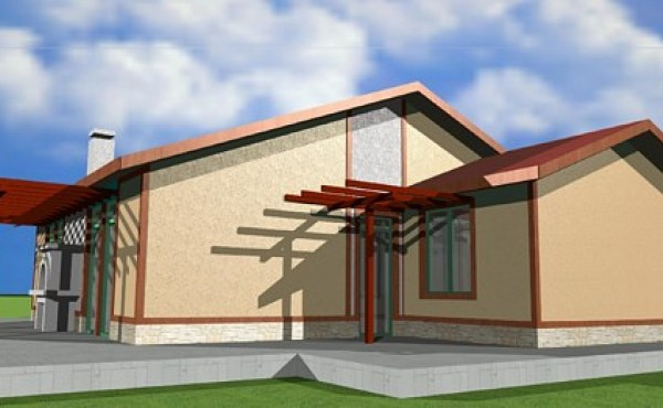 One storey prefabricated house EKO LIVING 125