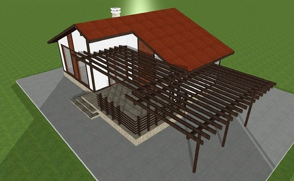 One-storey prefabricated house EKO LIVING 61