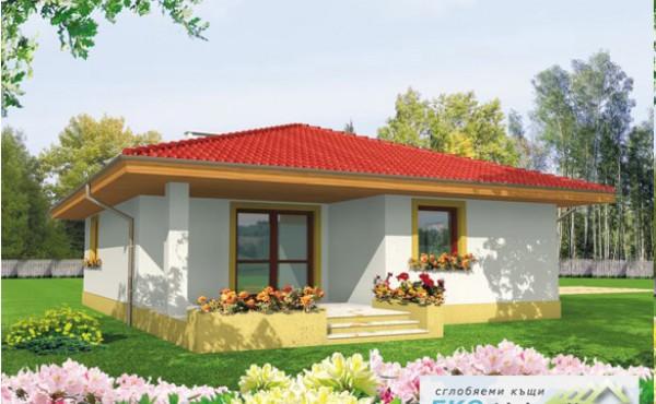 One-storey prefabricated house EKO LIVING 97