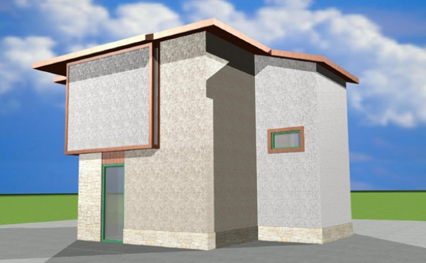 Two storey prefabricated house Eko Living Grand 90