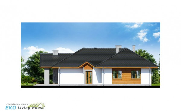 One storey prefabricated house KALI