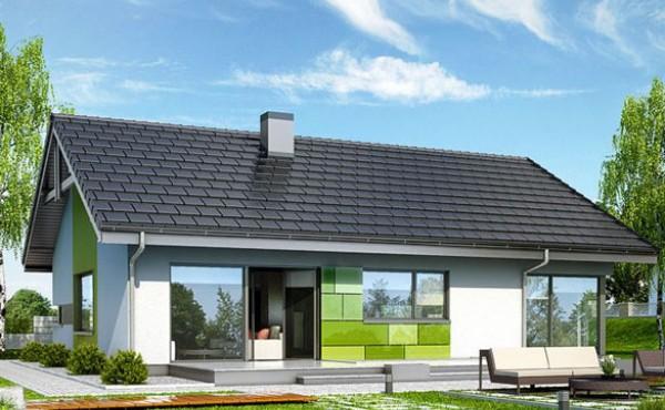 One storey prefabricated house CARINA 143