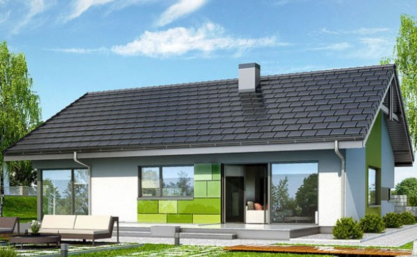 One storey prefabricated house CARINA 143