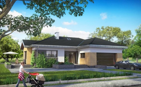 One storey prefabricated house RELAX