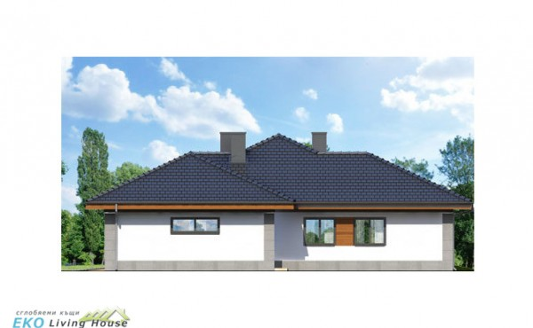 One storey prefabricated house SIYANA STYLE