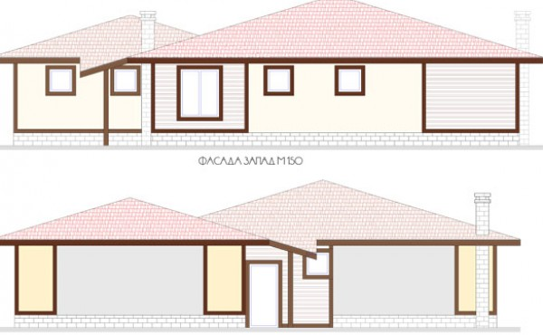 One storey prefabricated house VESELA